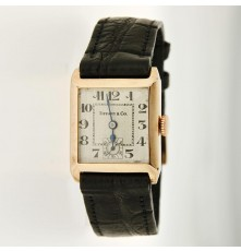 Tiffany & Co Vintage 9K gold Art Deco