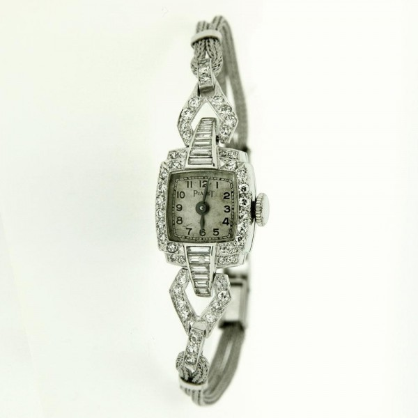 Piaget Vintage Diamond and Platinum