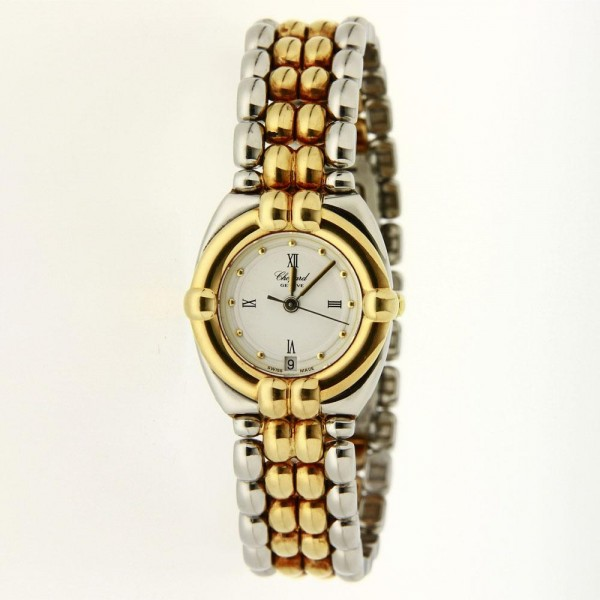 Chopard Gstaad 18K Gold and Steel